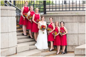 Waukesha River Walk wedding photos