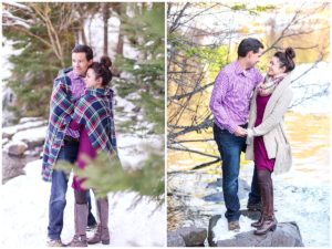 Bond Falls Engagement Session
