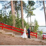 Summer wedding at Eagle Waters Resort